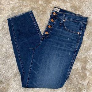J crew jeans vintage straight jeans